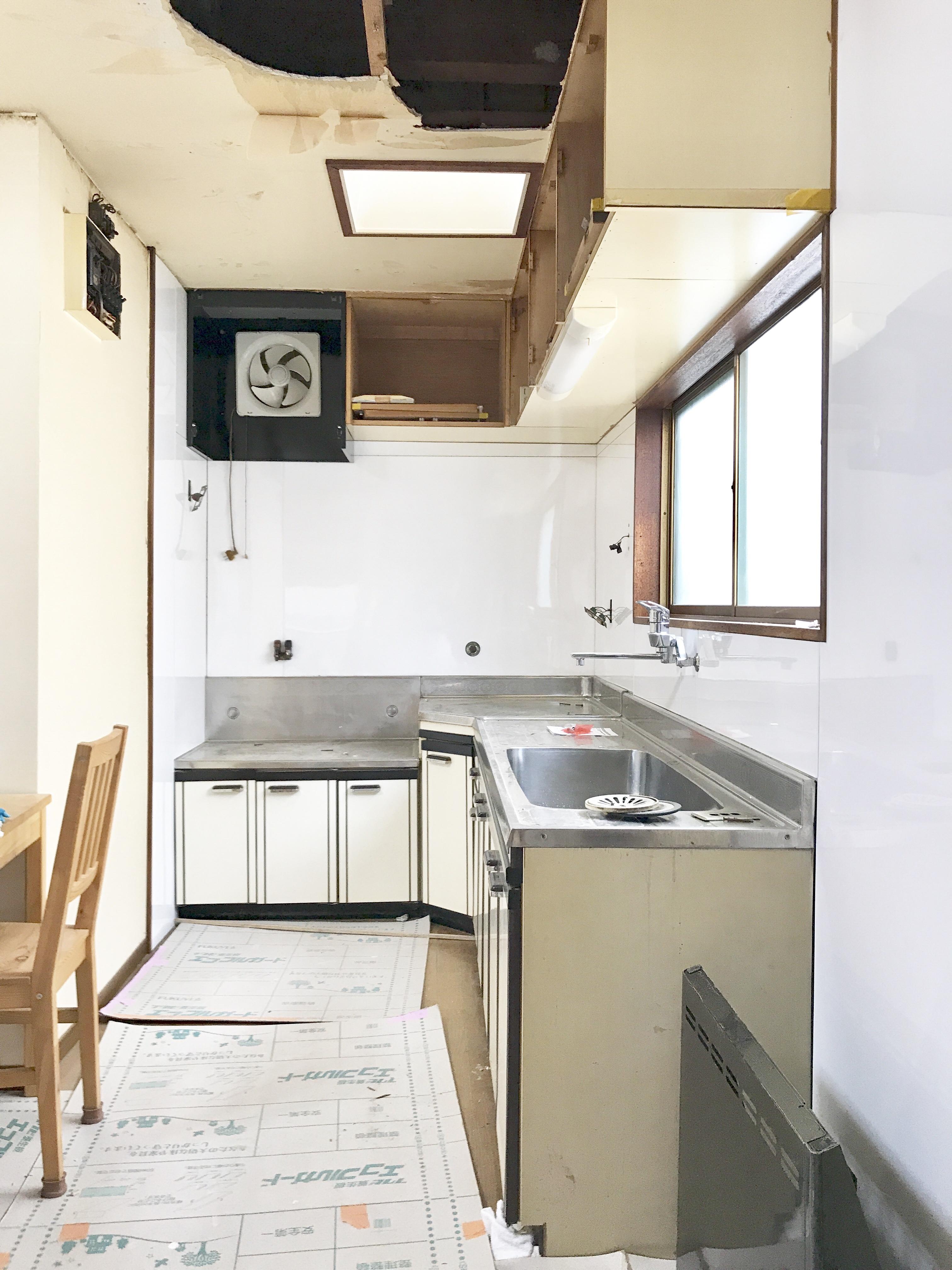 キッチンパネル シンプル