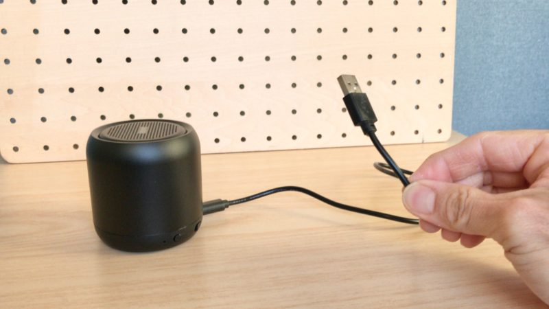 Bluetoothスピーカーのアンテナ