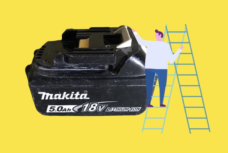 マキタのバッテリ 18V